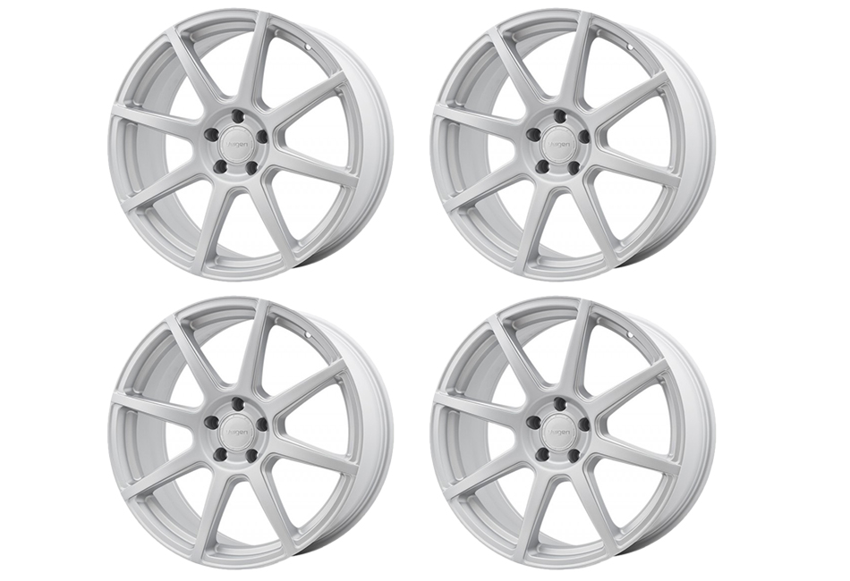 Velgen Wheels VMB8 Matte Silver Staggered Wheel Set - 20x9 and 20x10.5 (05-20)