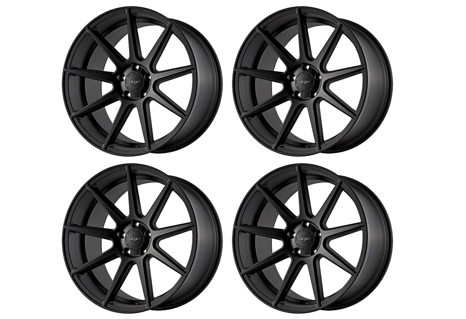 Velgen Wheels VMB9 Satin Black Staggered Wheel Set - 20x9 and 20x10.5 (05-16)