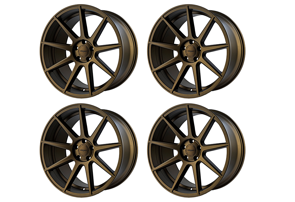 Velgen Wheels VMB9 Satin Bronze Staggered Wheel Set - 20x9 and 20x10.5 (05-20)