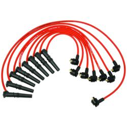 Ford Performance Mustang GT 9MM Red Spark Plug Wires 4.6L (1996-1998)