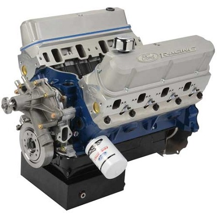 Ford Performance Mustang 460 CI 575 HP Front Sump Pan Crate Engine (1979-1993)