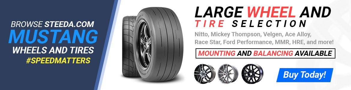 mustang wheels tires banner