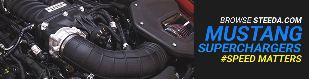 shop mustang superchargers banner