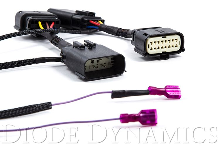 mfts_drl_harness_3 dynamics drl harness for ford mustang sequential led turn signal Turn Signal Relay Wiring Diagram at mr168.co