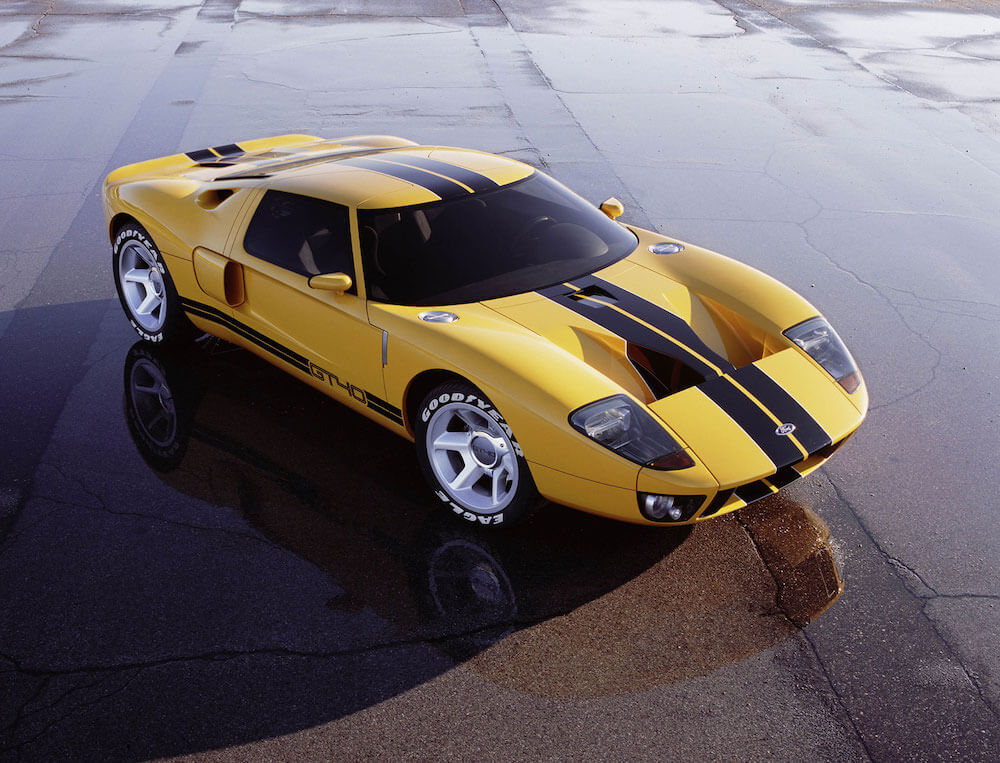 2002 Ford GT Concept