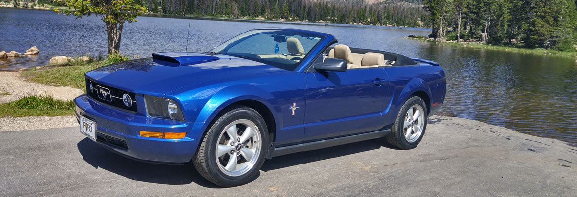 2005-2010 S550 Mustang Colors