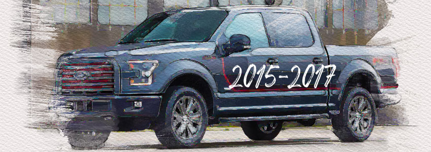2015-2017 Ford F-150 Paint Colors