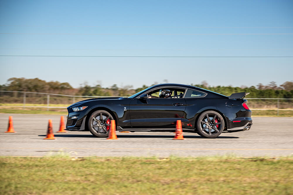2020 Shelby GT500 On Track