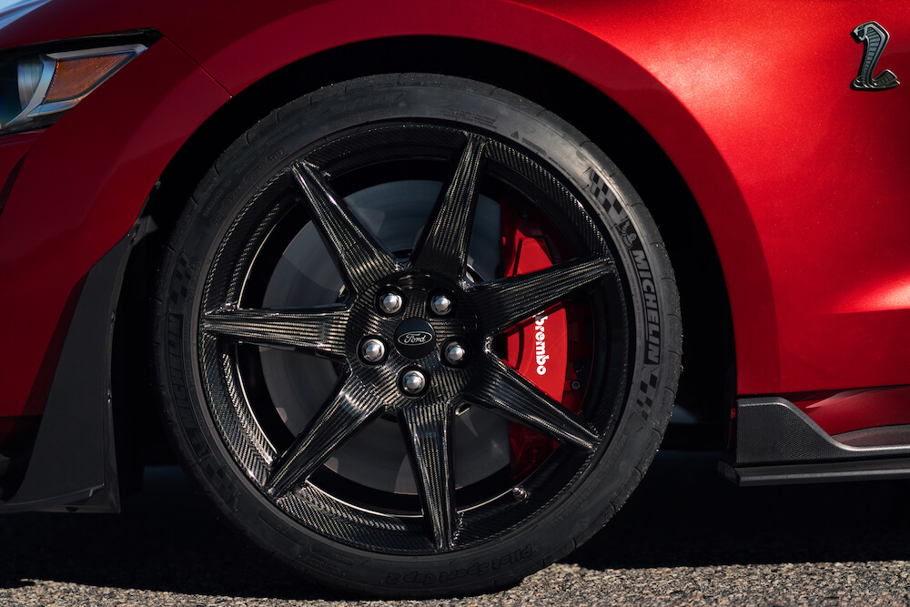 2020 Shelby GT500 Carbon Fiber Wheels