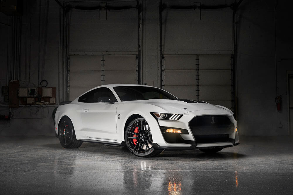 Shelby GT500 Oxford White