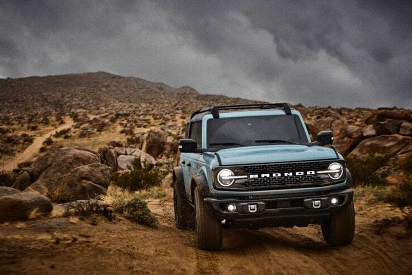 2021 Ford Bronco Rolling Off Road