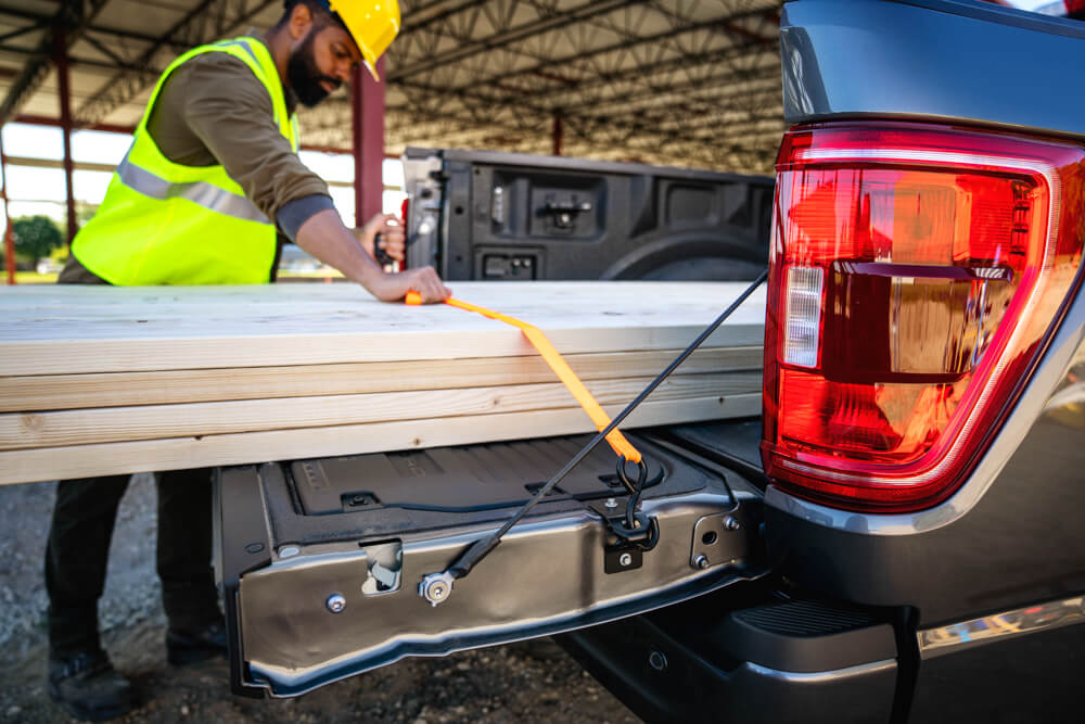 2021 Mustang F-150 Tailgate Tie Down