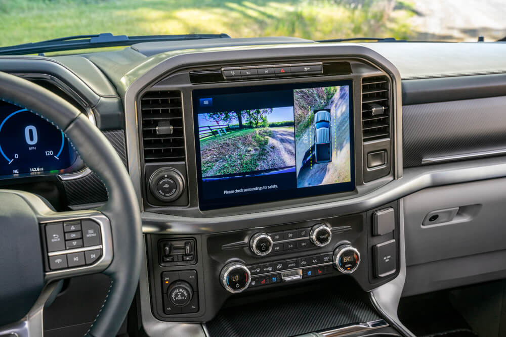 2021 Mustang F-150 Infotainment Center Stack