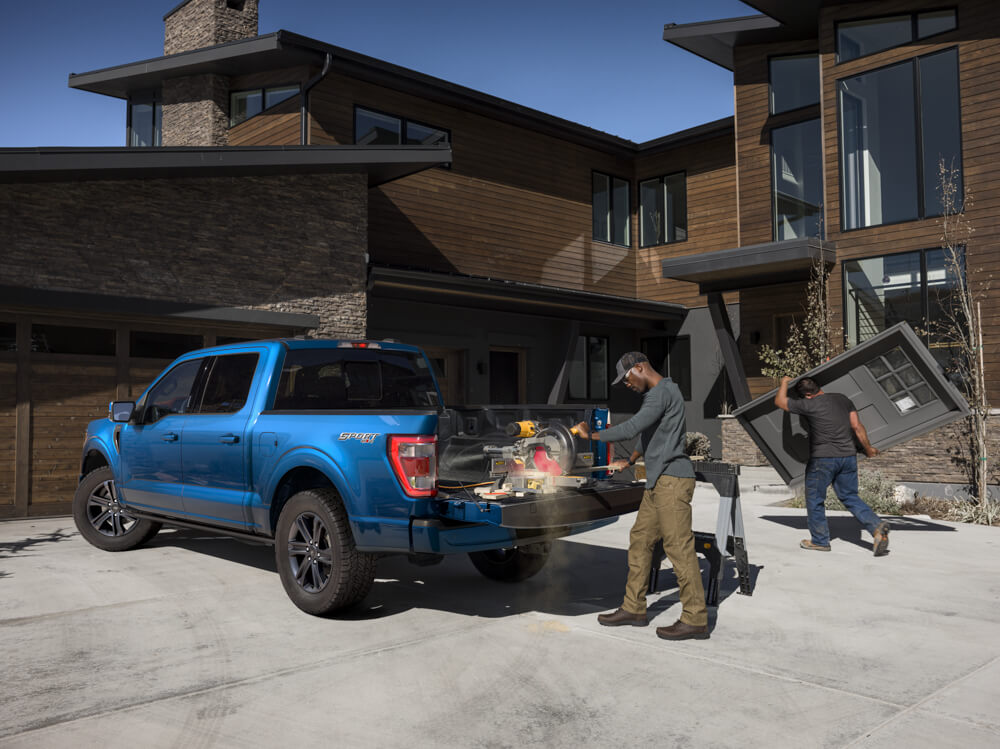 2021 Mustang F-150 Worksite