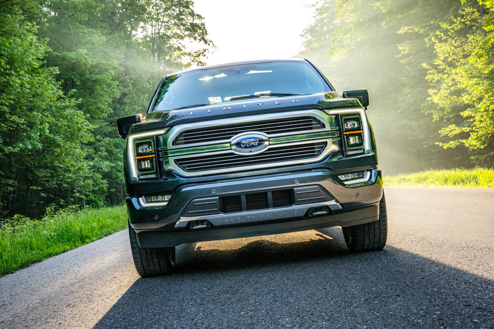 2021 Mustang F-150 Front