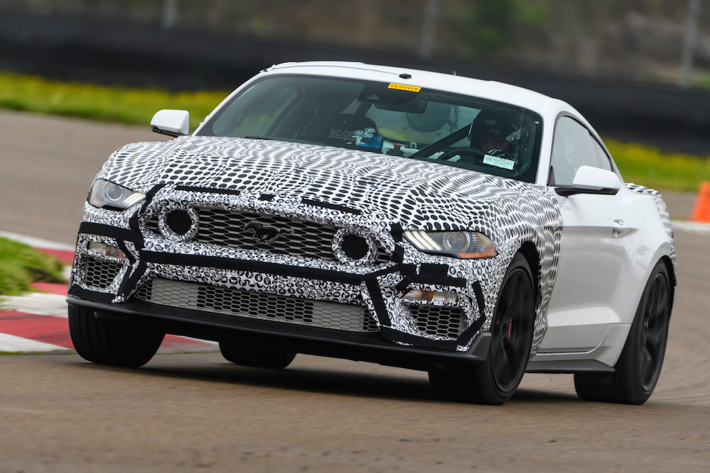 2021 Mustang Mach 1 Front End
