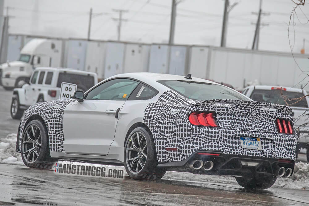 2021 Mustang Mach 1 Spied In Snow