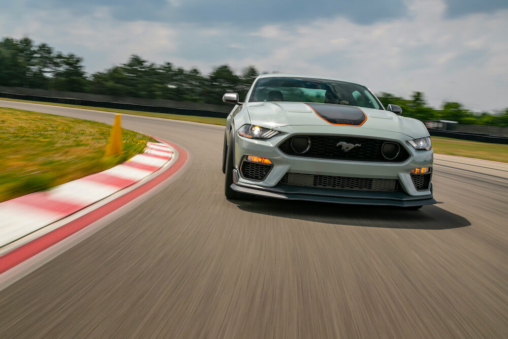 2021 Mustang Mach 1 Front