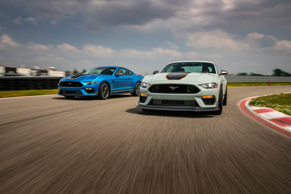 2021 Mustang Mach 1 On Track