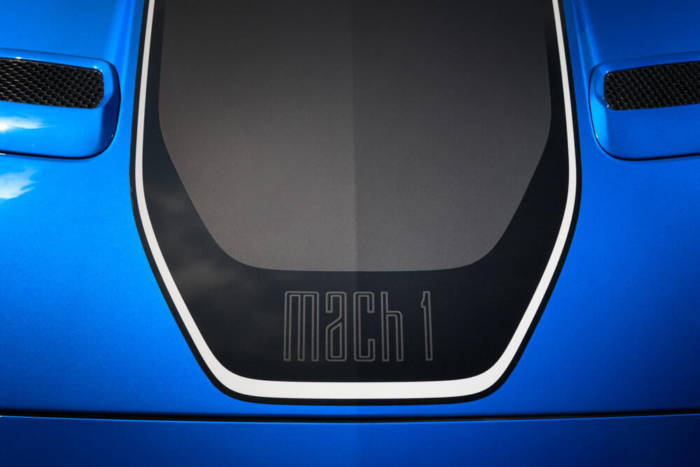 2021 Mustang Mach 1 Decal