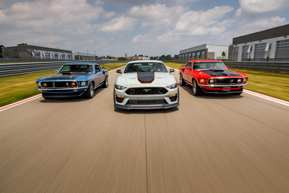 2021 Mustang Mach 1 On Track With Classic Mach 1