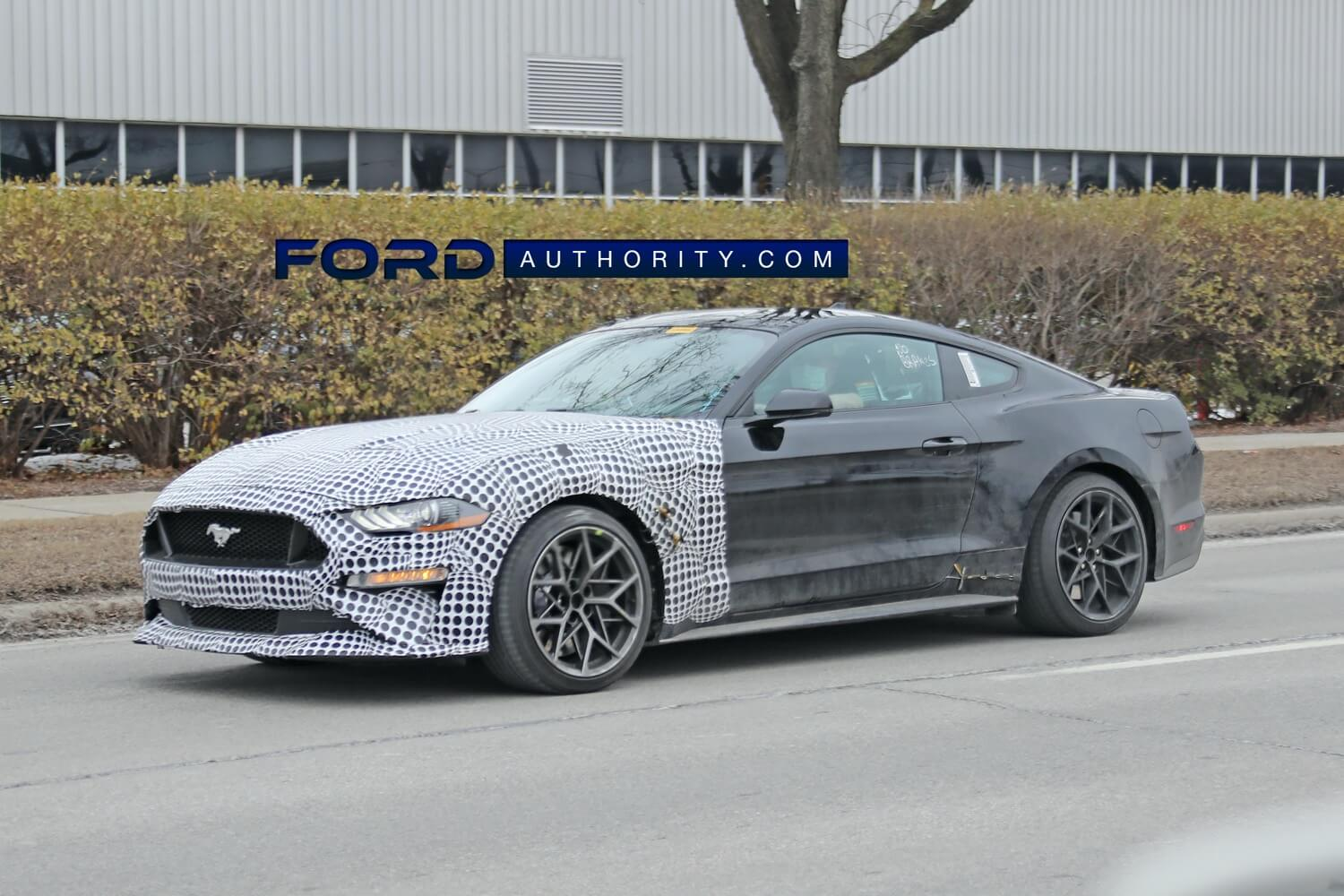2023 Mustang S650 Test Mule Front