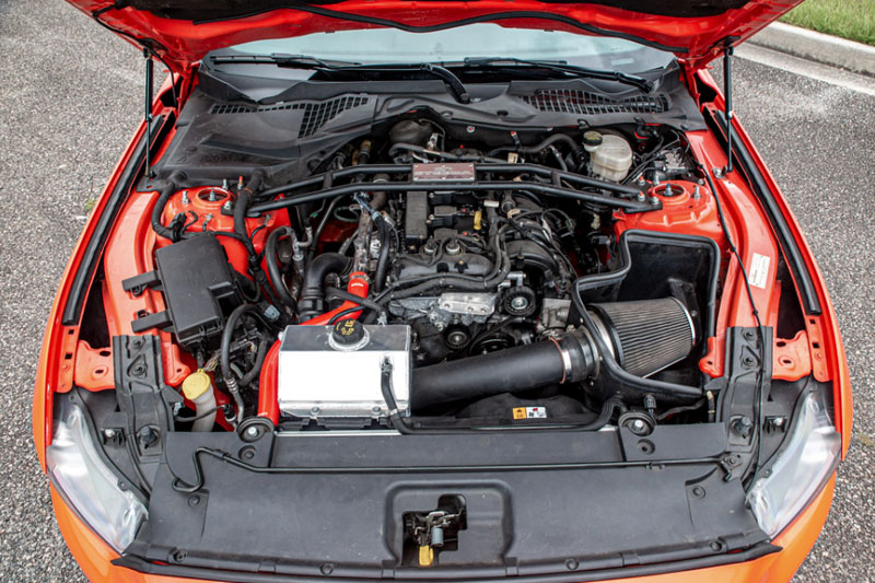 Mustang EcoBoost Engine Bay