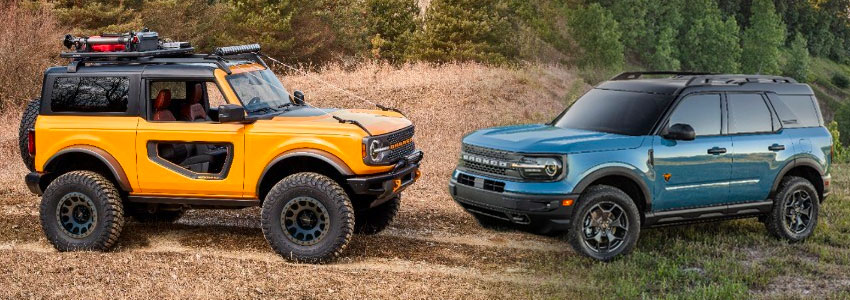 bronco and sport
