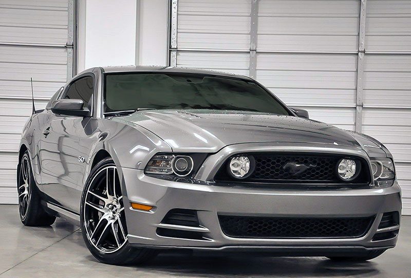 2013 Mustang Refresh Front End