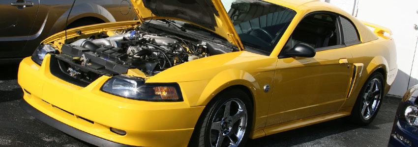 2V Mustang Engines