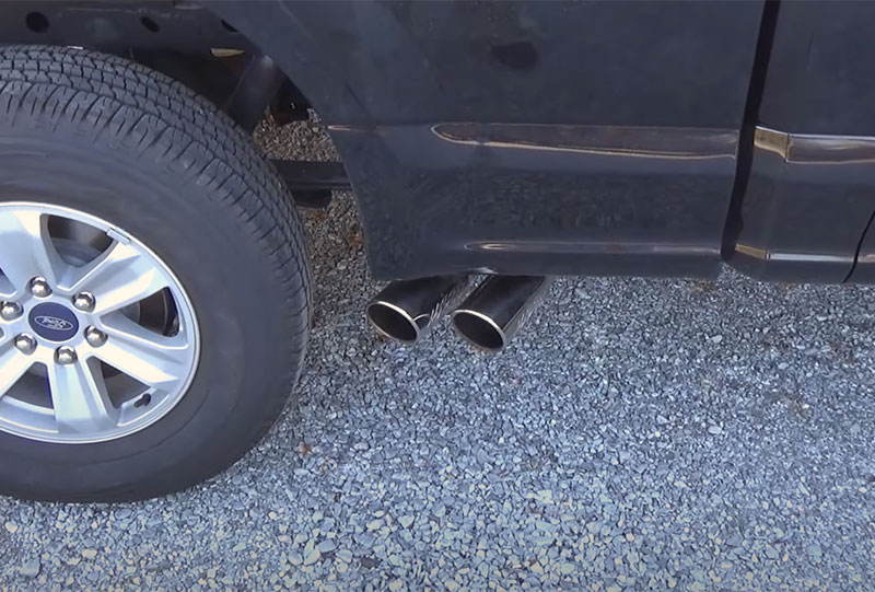 f-150 side exhaust