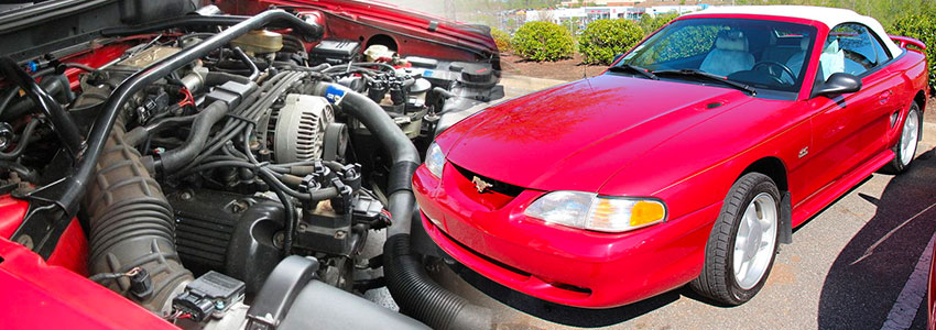 Ford's First Modular Engine Mustang