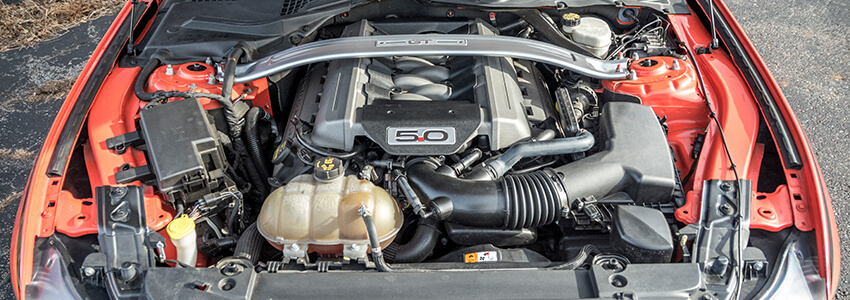 Gen 2 Ford Coyote Engine Mustang