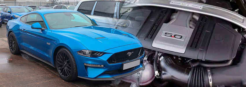 Gen 3 Ford Coyote Engine Mustang