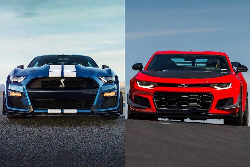 Shelby GT500 vs Camaro ZL1