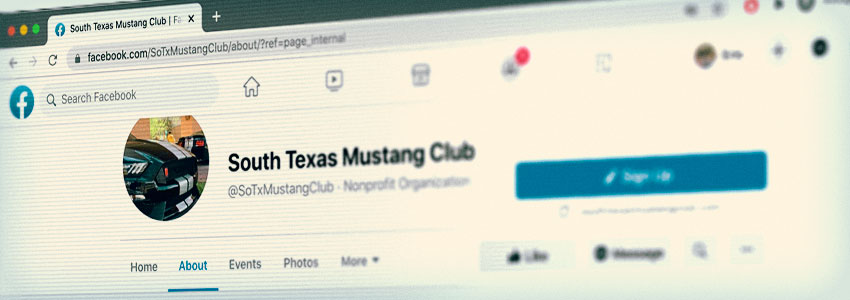 Mustang Clubs On Facebook