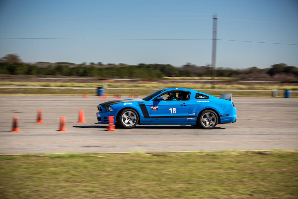 Boss 302 On Autocross Course