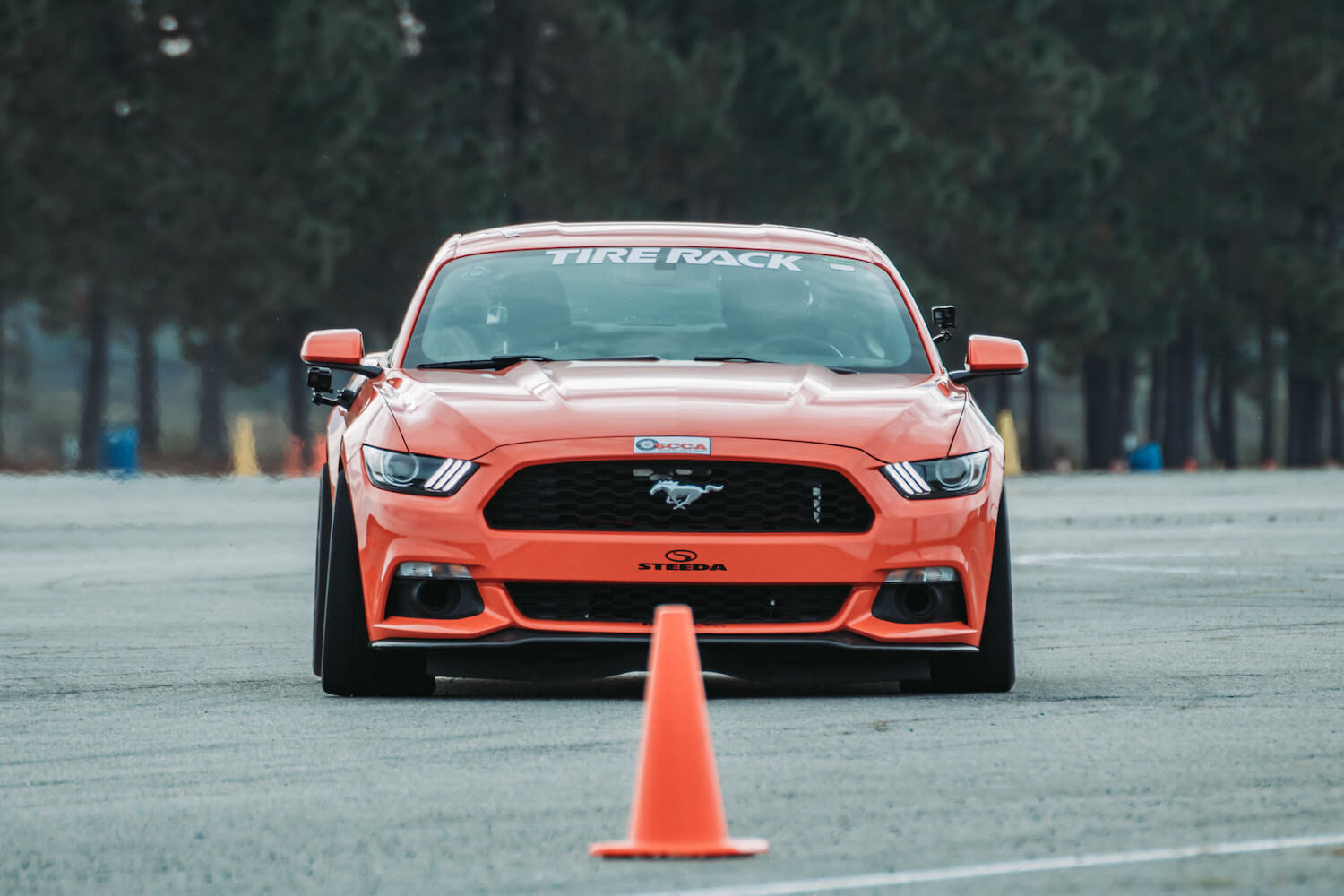 Mustang EcoBoost Autocross Car