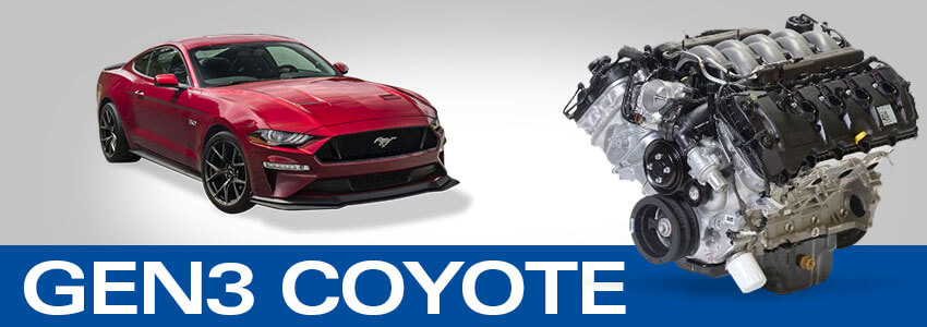 Gen III Coyote Mustang Engine