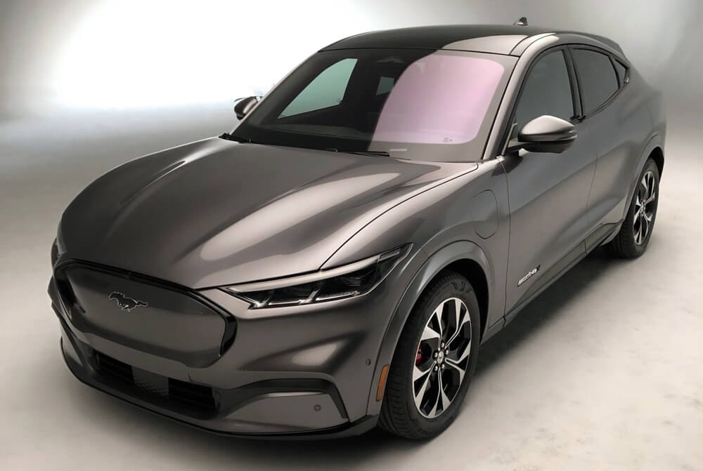2021 Mustang Mach-E Carbonized Gray Metallic