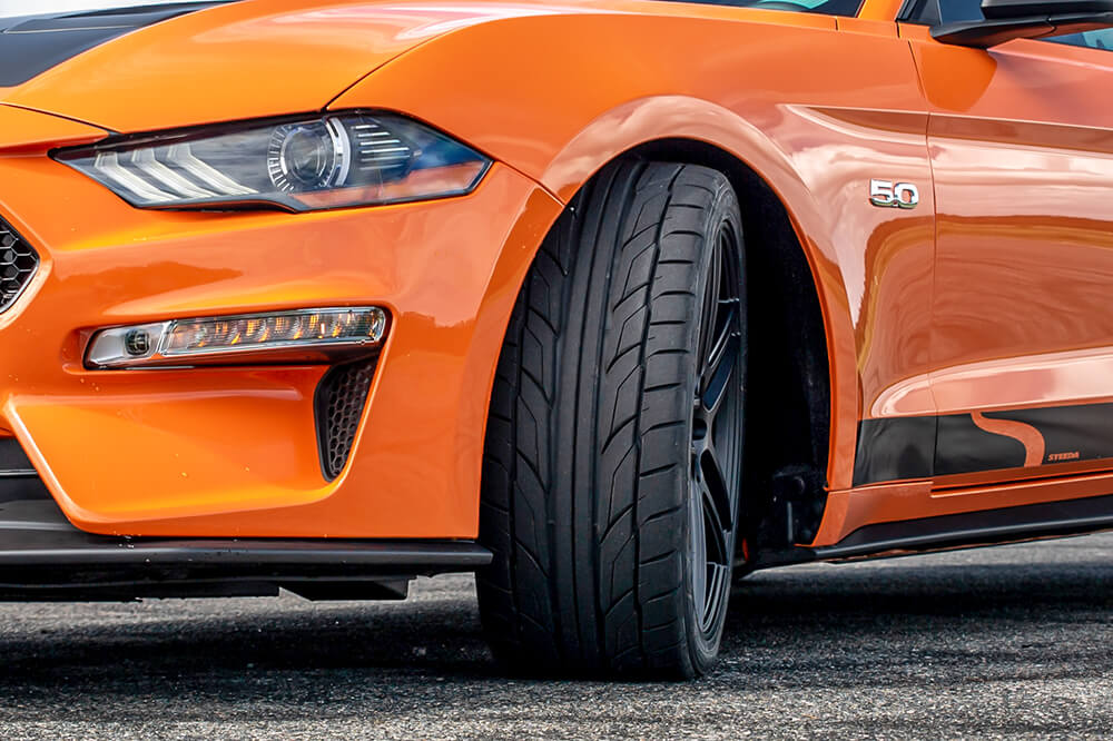 Nitto NT555 G2 Street Tire Mustang
