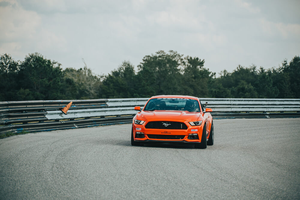 S550 Mustang Racing Road Course The FIRM