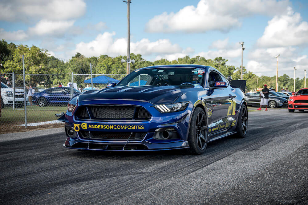 S550 Mustang Coil Overs AutoX