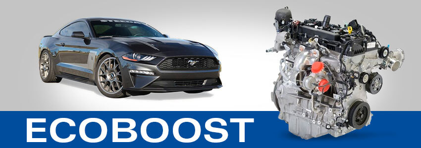 EcoBoost Mustang Engine
