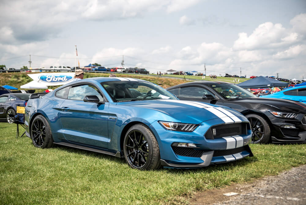 Mustang Shelby GT350 Ford Performance Blue