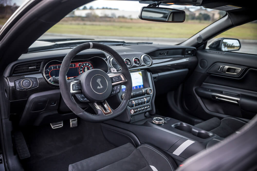 Shelby GT500 Interior Dashboard