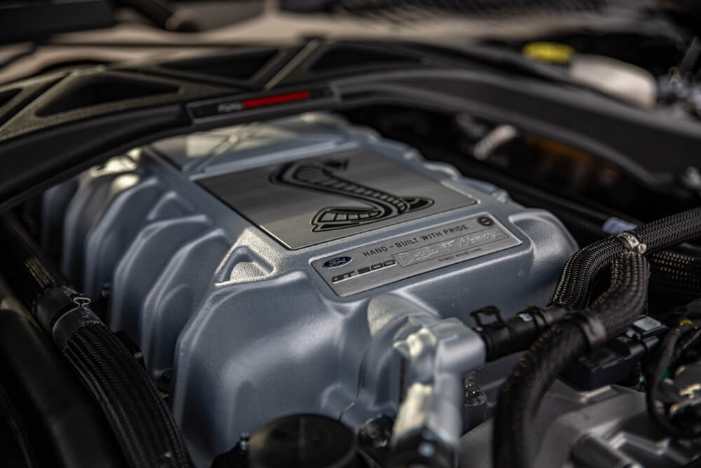 Shelby GT500 Supercharger