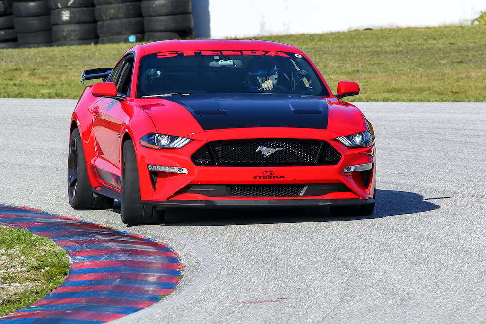 2018 Mustang GT Steeda Q500 On Track