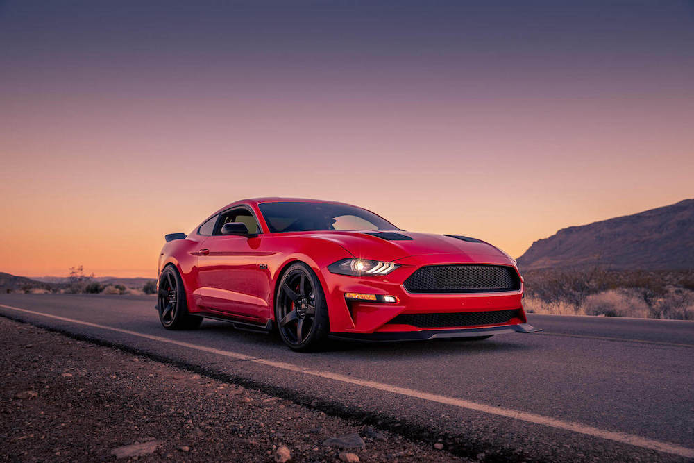 Steeda S550 Equipped Mustang