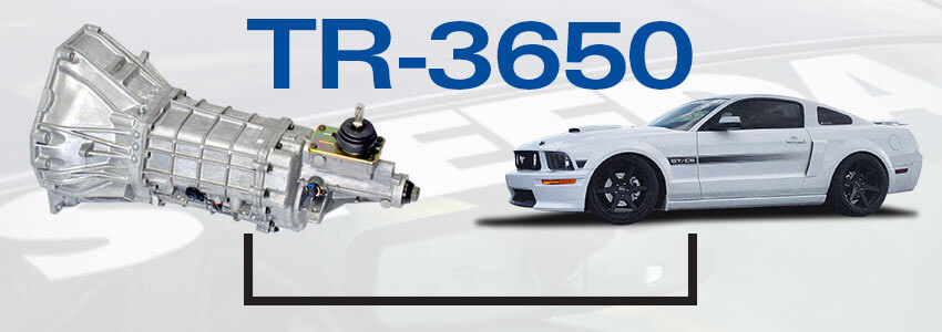 Mustang TR-3650 Manual Gearbox